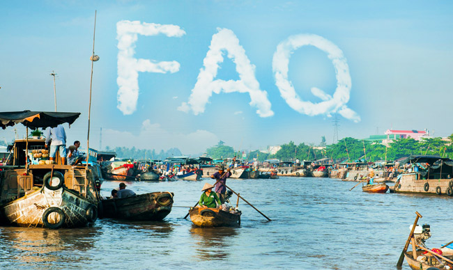 Mekong River Cruise FAQs - frequently asked questions