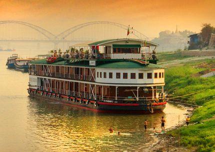 Deluxe Myanmar Cruises