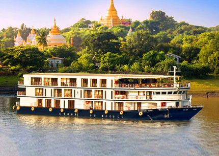 Luxury Myanmar Cruises