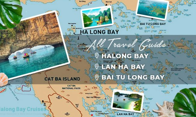 ALL INFORMATION ABOUT HALONG BAY CRUISES, LAN HA BAY CRUISES & BAI TU LONG BAY CRUISES
