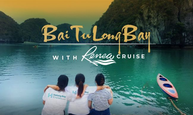 An exceptional tranquil excursion in Bai Tu Long Bay with Renea Cruise