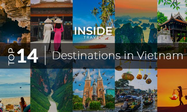 Best Destinations in Vietnam to visit from North to South