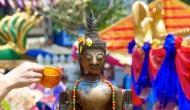 Bun Pha Wet in Laos