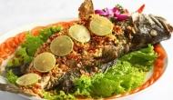 Camboidia - Trei bung kanh chhet (Fried fish on the fire lake)