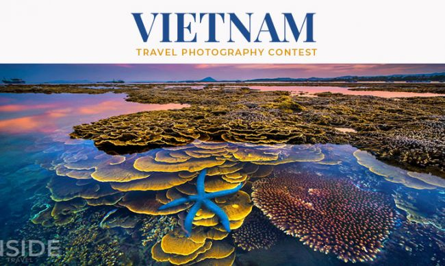 """Colors of the Sea"" won the first prize of Vietnam Travel Photography Contest"