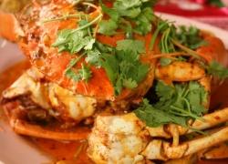 Curry crab in Cambodia