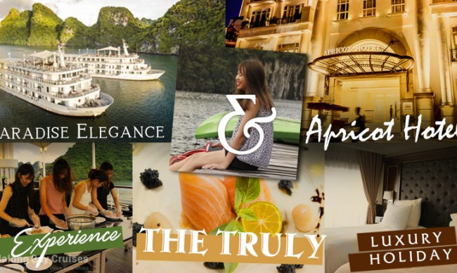 Experience the Truly Luxury holiday - Package Paradise Elegance Cruise & Apricot Hotel
