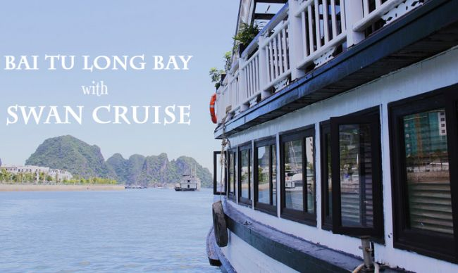 From dusk till dawn in Bai Tu Long Bay with Swan Cruise