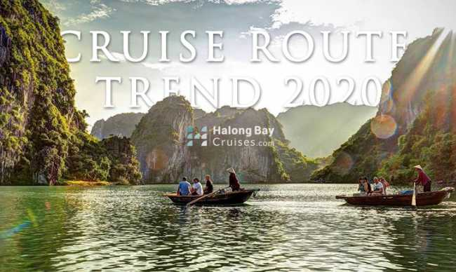 HALONG BAY CRUISE ROUTE TREND 2020