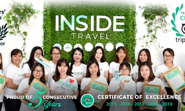 Inside Travel Wins Prestigious 2020 TripAdvisor Traveler's Choice Awards
