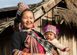 Lao Seung (Upland People) in Laos