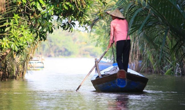 Lifestyle of people in Mekong Delta