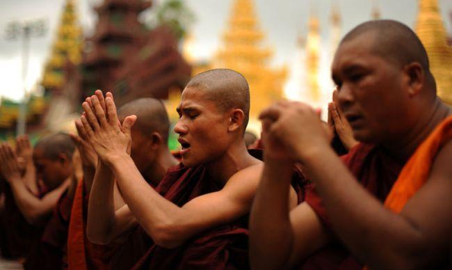 Main Religions in Myanmar