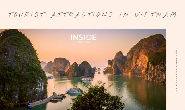 Overview about tourist attractions in Vietnam