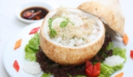 Steamed coconut rice in Ben Tre