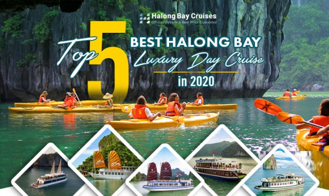 TOP 5 BEST HALONG BAY LUXURY DAY CRUISE IN 2020
