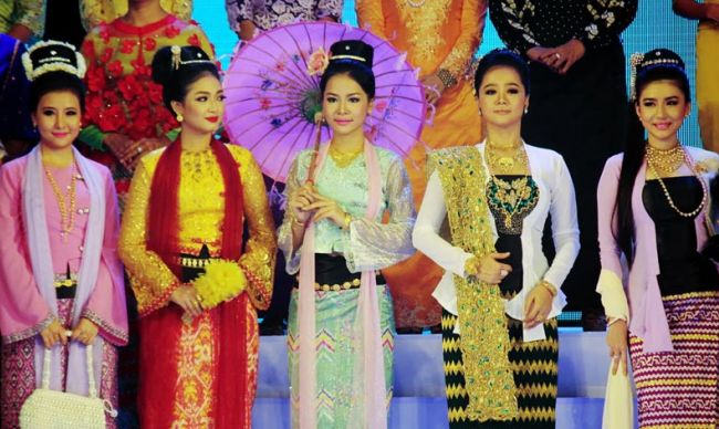 Traditional Costumes in Myanmar
