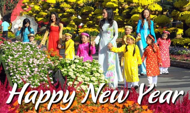 Vietnam International New Year Day