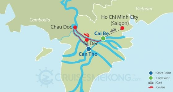 Mekong cruise Can Tho to Cai Be