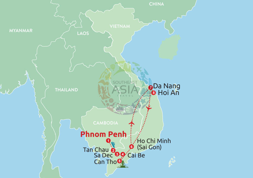 Mesmerizing trip from Cambodia to Vietnam