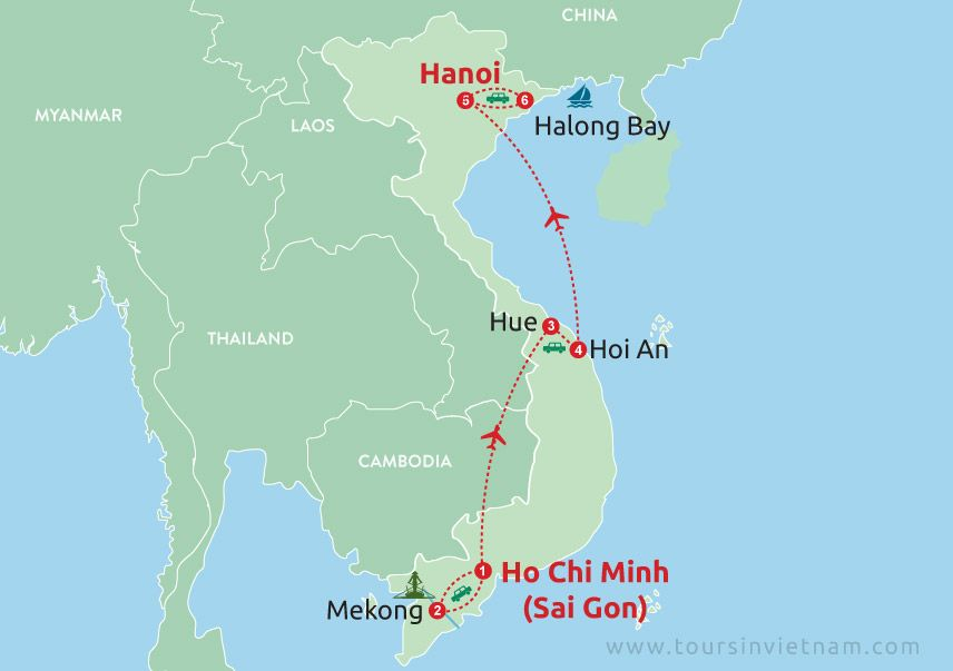 Vietnam Family Tour from South to North