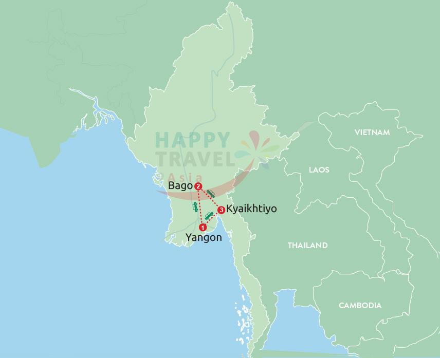 Fantastic escape from Yangon