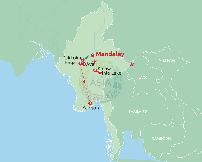 Discover the timeless Myanmar & Irrawaddy river