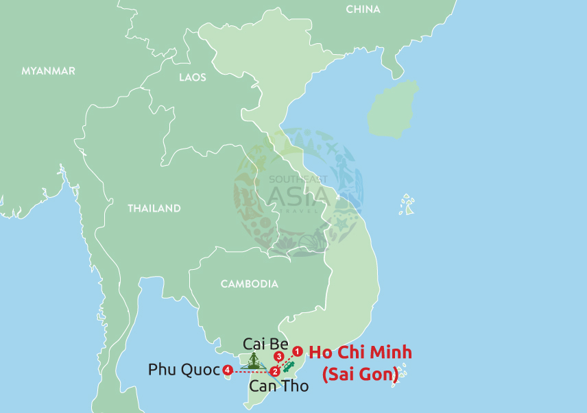 From Saigon to Phu Quoc with Mekong Cruise