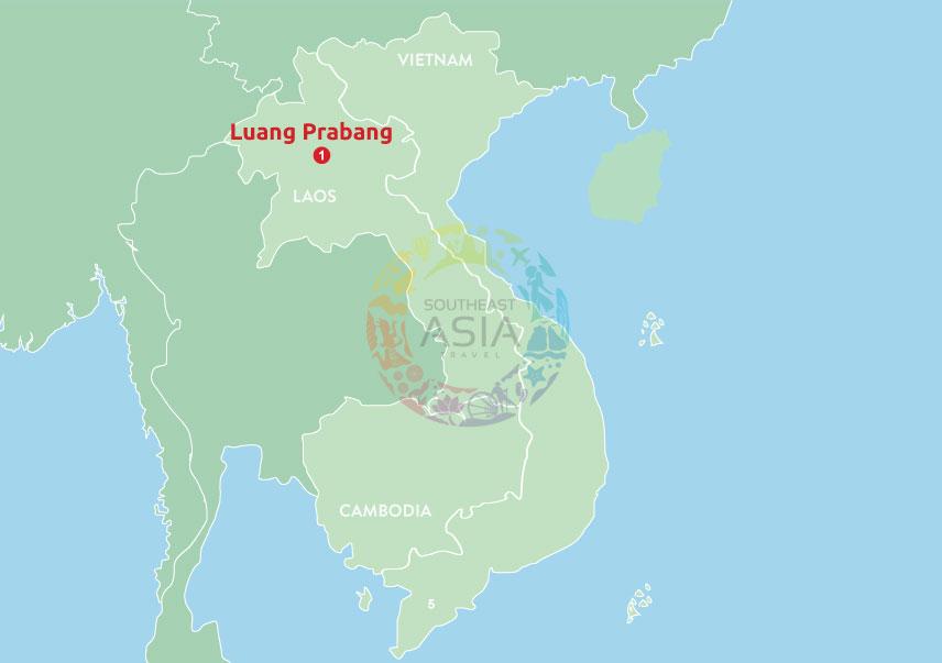 Peaceful getaways to Luang Prabang