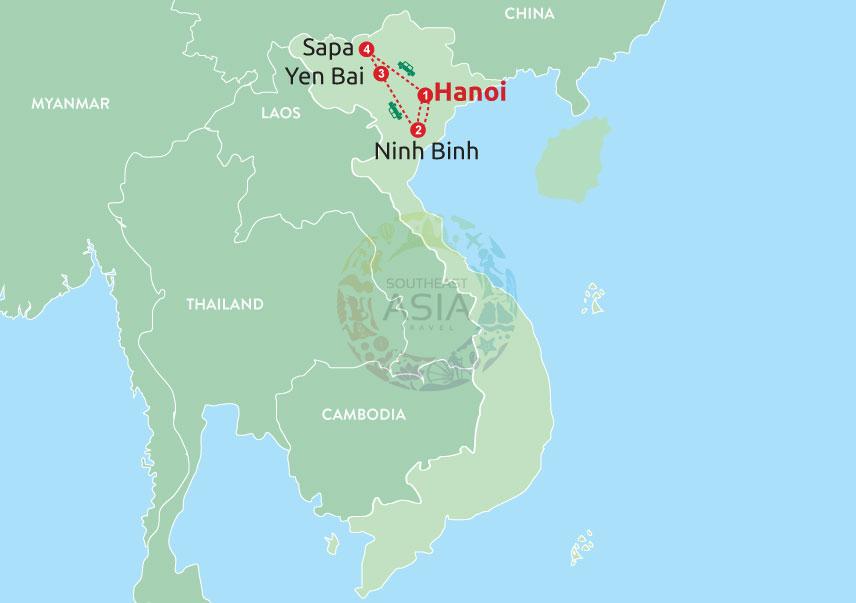 Trekking in the NorthWest of Vietnam