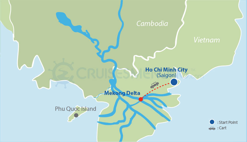 Explore the unique Mekong Delta