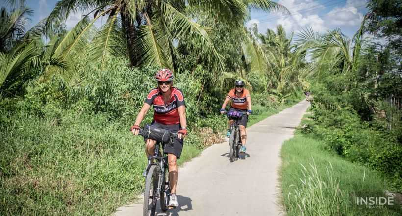 Discover the real Mekong Delta by bike
