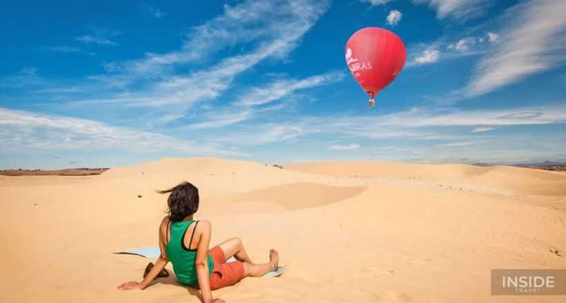 Unique Hot Air Balloon Mui Ne
