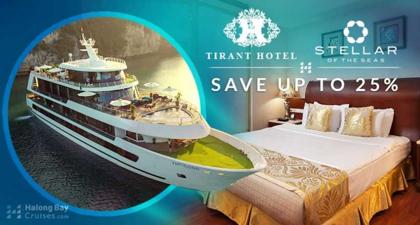 Luxury Package: Stellar of the Seas & Tirant Hotel