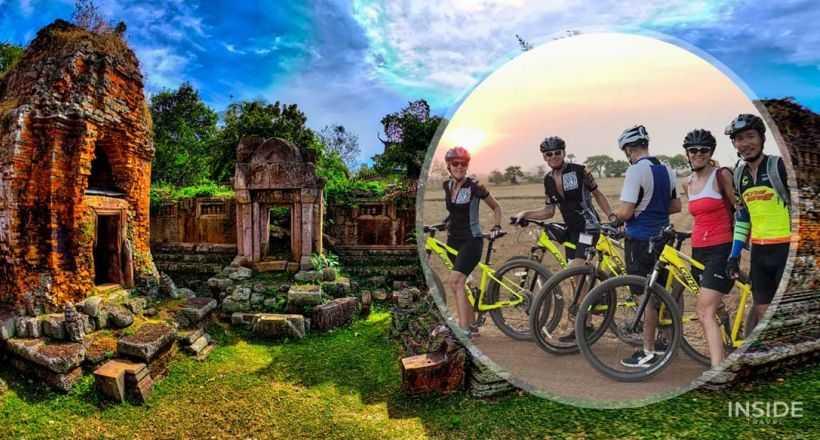 Biking from Phnom Penh to Kampot