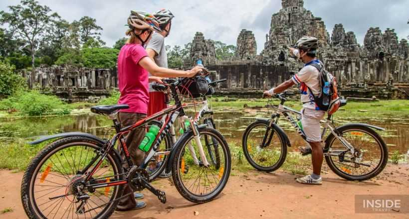 Biking to Angkor Temples