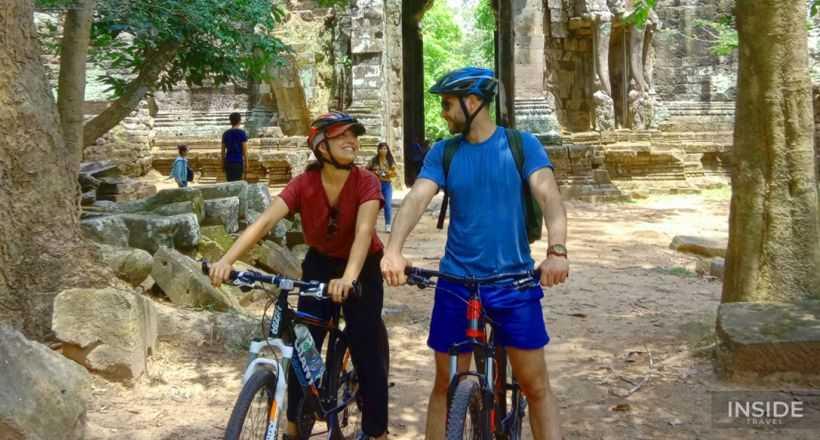 Biking To The Village of Krabei Riel & Phnom Krom