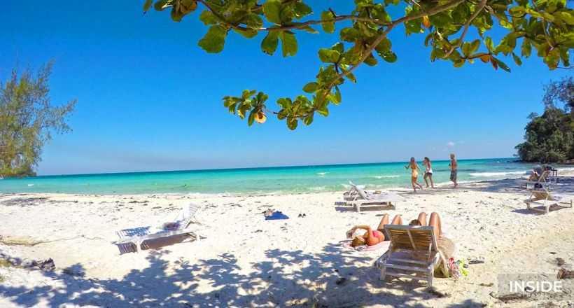 Cambodia Beach Vacation