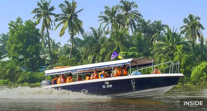 Cu Chi Tunnels Adventure by speedboat - SIC tour