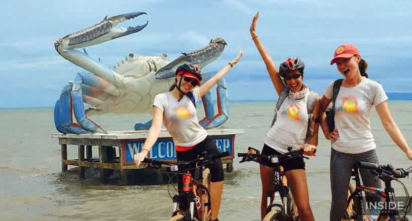 Cycling from Phnom Penh to Sihanoukville