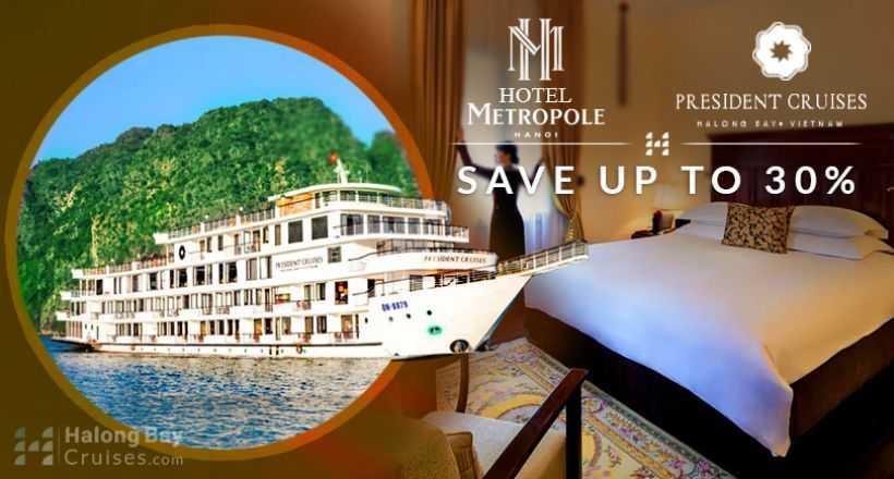 Distinctive Experience: President Cruise + Sofitel Legend Metropole Hanoi