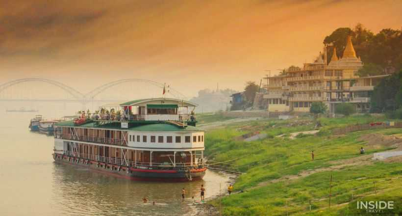 Enchanting Myanmar with Irrawaddy river Cruise