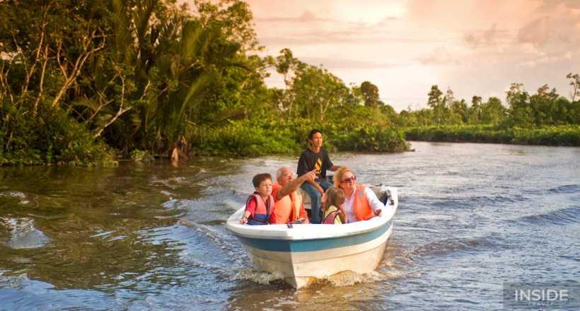 Funny Family Vacation in Borneo