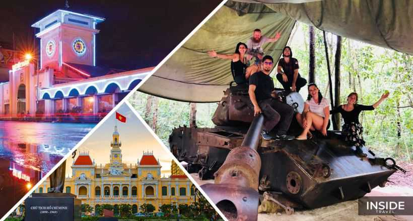 Explore Cu Chi Tunnels & Ho Chi Minh city full day