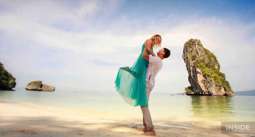 Romantic honeymoon on Vietnam beaches