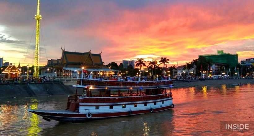 Killing Field & Sunset Cruise on Mekong River
