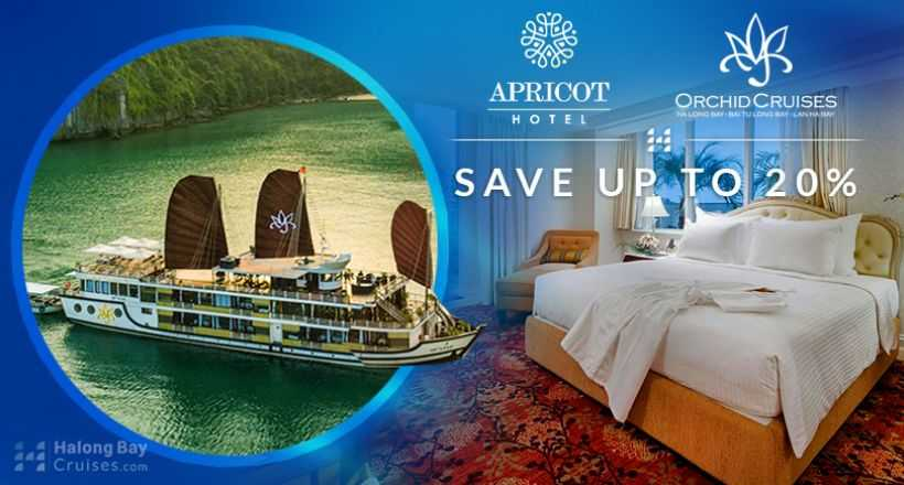 Luxury Package 4D3N: Apricot Hotel + Orchid Cruise