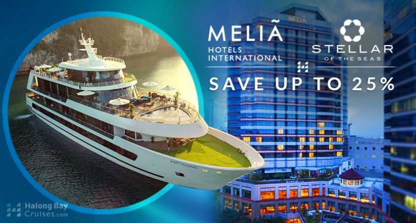 Best Combo : Stellar Of the Seas & Melia Hotel