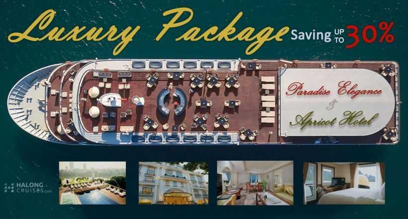 Luxury Package: Paradise Elegance Cruise + Apricot Hotel