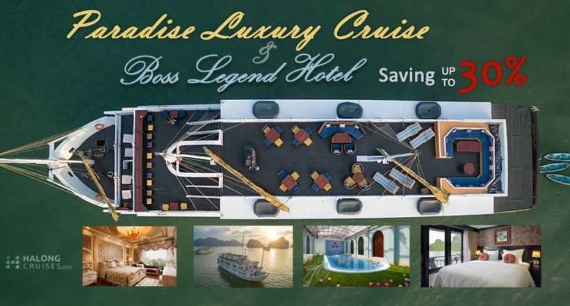 Best Value: Paradise Luxury Cruise + Boss Legend Hotel
